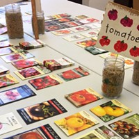 Get ready for spring this Saturday at the Sixth Annual Seed Swap