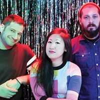 From left to right: Ricky Moslen, Stephanie Tsong and Adam Shuck