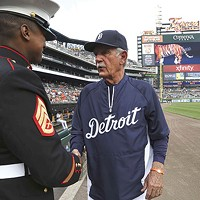 Former Pittsburgh Pirates manager Jim Leyland during his stint managing the Detroit Tigers