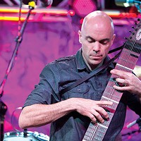 Musician Tom Griesgraber makes beautiful music from an unorthodox instrument, the Chapman Stick