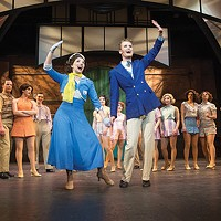 Halle Mastroberardino and Kurt Kemper in <i>42nd Street </i>
