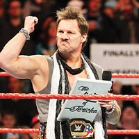 Chris Jericho putting a whole city on his list