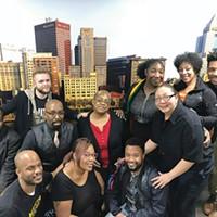 Members of Pittsburgh Black Pride