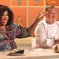 Nicole Byer and Jacques Torres of <i>Nailed It!</i>