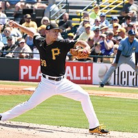 Pittsburgh Pirates pitcher Chad Kuhl