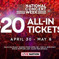 Celebrating National Concert Week With A Day of Giveaways