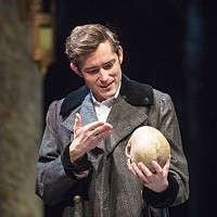 A weary life: Matthew Amendt as Hamlet