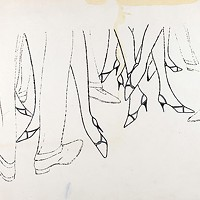 "Andy Warhol's ""Men's and Women's Legs and Shoes"""