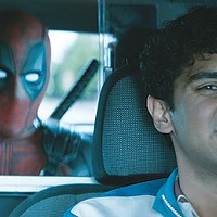 Ryan Reynolds and Karan Soni in <i>Deadpool 2</i>