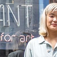 Curator Christina Lee at Future Tenant