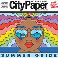 Ashley Olinger's Summer Guide cover illustration