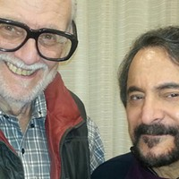 The late George Romero (left) with Tom Savini