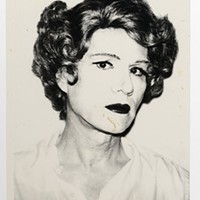 "Andy Warhol's ""Small Acetate (Self-Portrait in Drag)"""