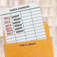 Libraries take a hit from Amazon not collecting extra sales tax