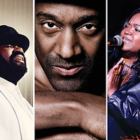 Pittsburgh Jazz International Festival performers Gregory Porter, Marcus Miller and Shemekia Copeland