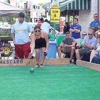 Bocce during Little Italy Days in Bloomfield