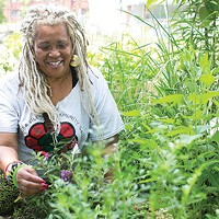 Vikki Ayanna Jones of Sankofa Village Community Garden