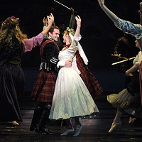 Dan Deluca and Deanna Doyle in <i>Brigadoon</i>