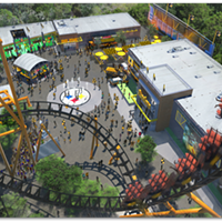 Kennywood reveals the Log Jammer's replacement: a Steelers-themed roller coaster (2)