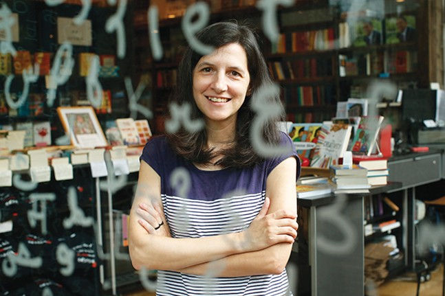 City of Asylum Books store manager Lesley Rains - CP PHOTO BY JARED WICKERHAM
