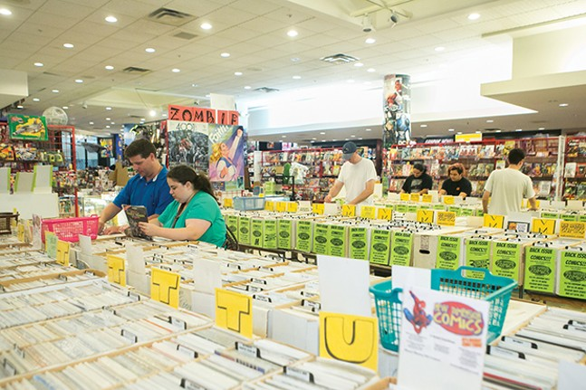 New Dimension Comics in the Century III Mall - CP PHOTO BY JOHN COLOMBO