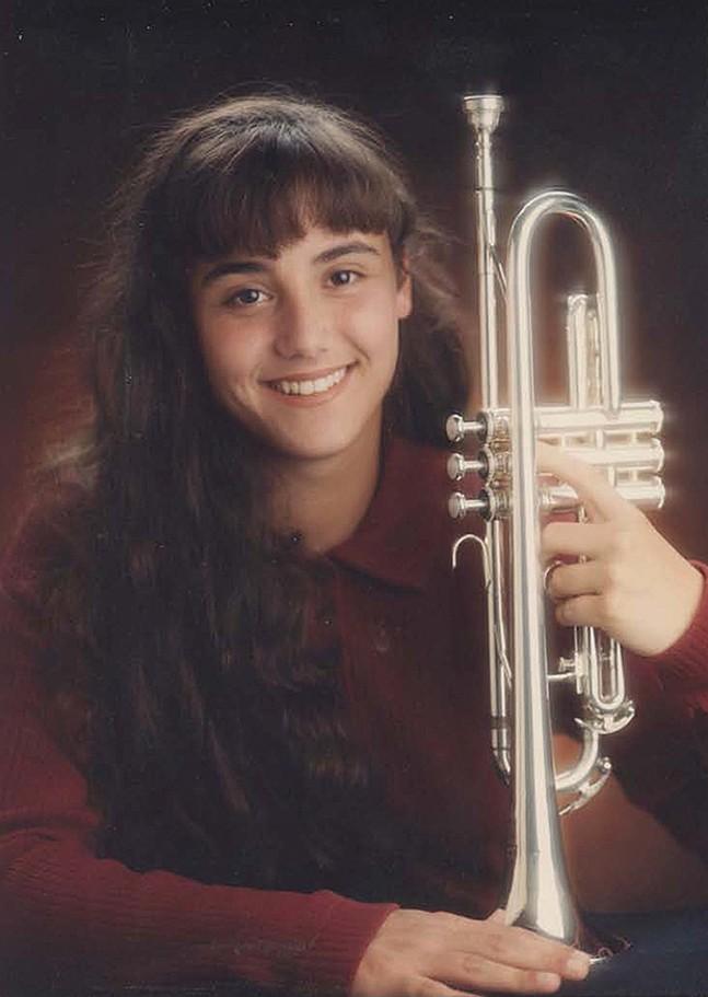 Gab Bonesso's senior picture