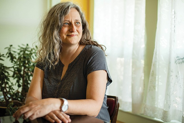 Sherrie Flick - PHOTO: RICHARD KELLY FOR THE PITTSBURGH WRITERS PROJECT