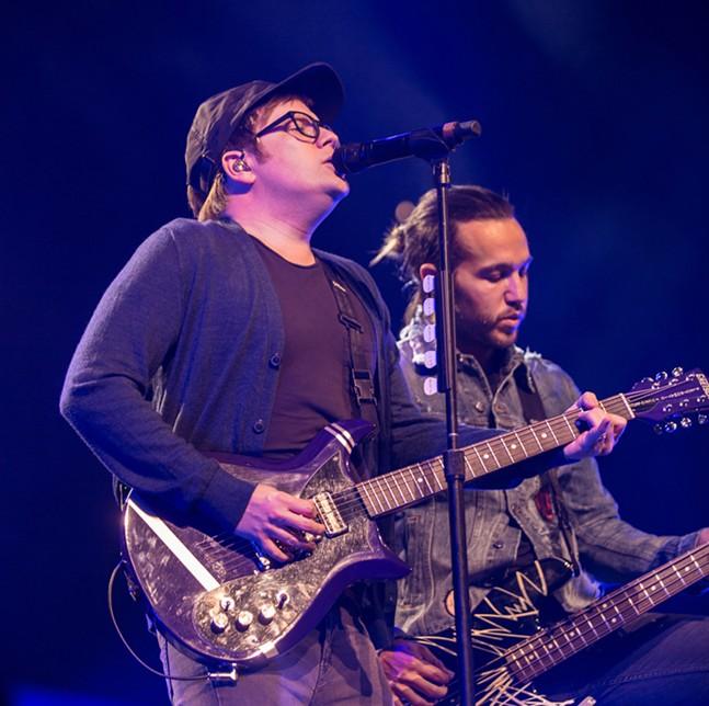 Fall Out Boy - CP PHOTO: MIKE PAPARIELLA