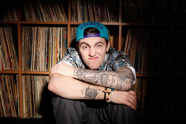 Mac Miller in 2011 - CP PHOTO: HEATHER MULL