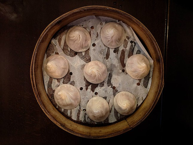 Soup dumplings at Taiwanese Bistro Cafe 33 - CP PHOTO: MAGGIE WEAVER