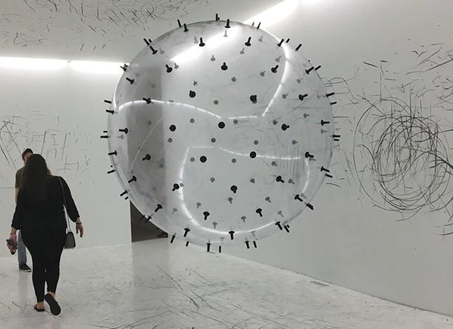 Installation artwork by Karina Smigla-Bobinski - CP PHOTO: HANNAH LYNN
