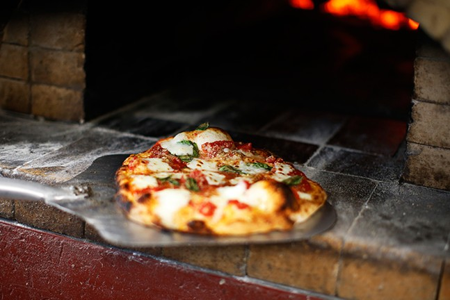 Margherita pizza - CP PHOTO: JARED WICKERHAM