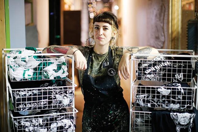 Rose Hermalin of Bread & Water Printshop - CP PHOTO: JARED WICKERHAM