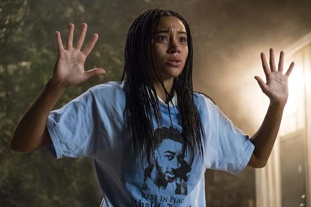 Amandla Stenberg as Starr in The Hate U Give - TWENTIETH CENTURY FOX