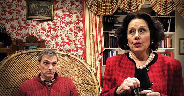 Tony Bingham and Helena Ruoti in Chatterton - PHOTO: HEATHER MULL