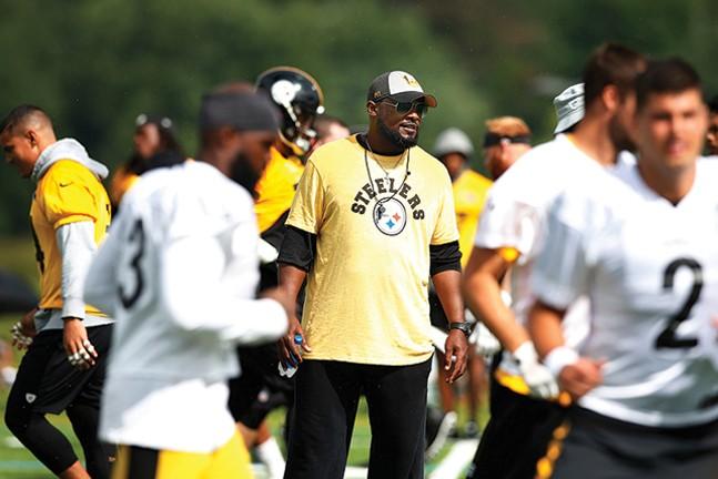 Steelers coach Mike Tomlin - CP PHOTO: JARED WICKERHAM