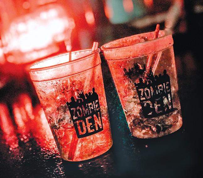 Zombified souvenir cups