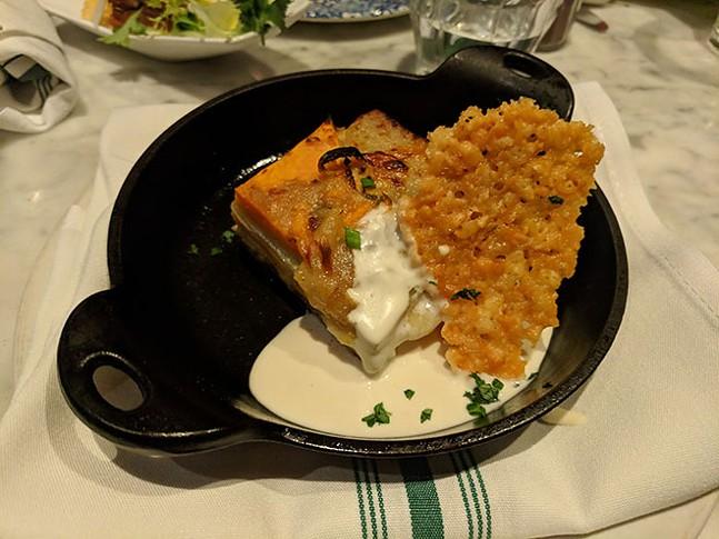 Potato dauphinoise - CP PHOTO: MAGGIE WEAVER