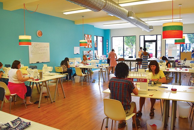 Sewing with Cut & Sew Studio in Morningside - CUT & SEW