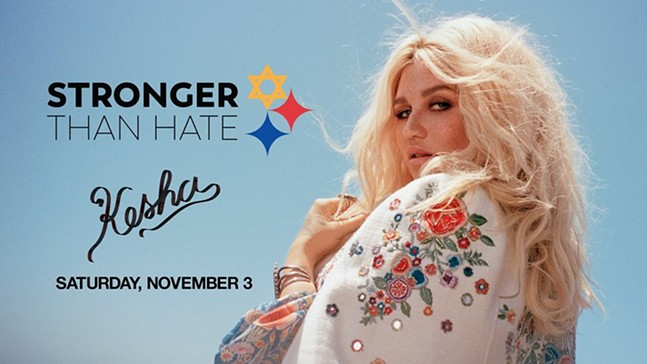 Stronger Than Hate: A Concert with Kesha - PHOTO: THE DELTA FOUNDATION OF PITTSBURGH