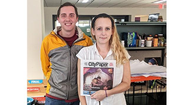 Pittsburgh City Paper senior writer Ryan Deto and editor-in-chief Lisa Cunningham