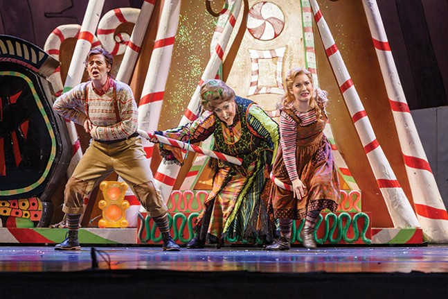 Corrie Stallings, Marianne Cornetti and Ashley Fabian in Hansel & Gretel -  - PHOTO: DAVID BACHMAN PHOTOGRAPHY