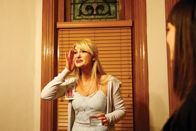 Cast member Ashley McKinney in Hollow Moon - CP PHOTO: JARED WICKERHAM