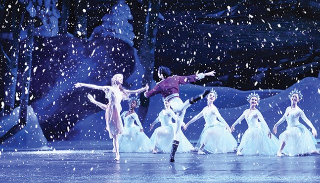 Amanda Cochrane and Yoshiaki Nakano in 2017's The Nutcracker - RICH SOFRANKO