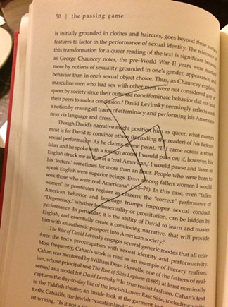 Second swastika on Page 50 of The Passing Game - PHOTO COURTESY OF ADIRA ROSEN