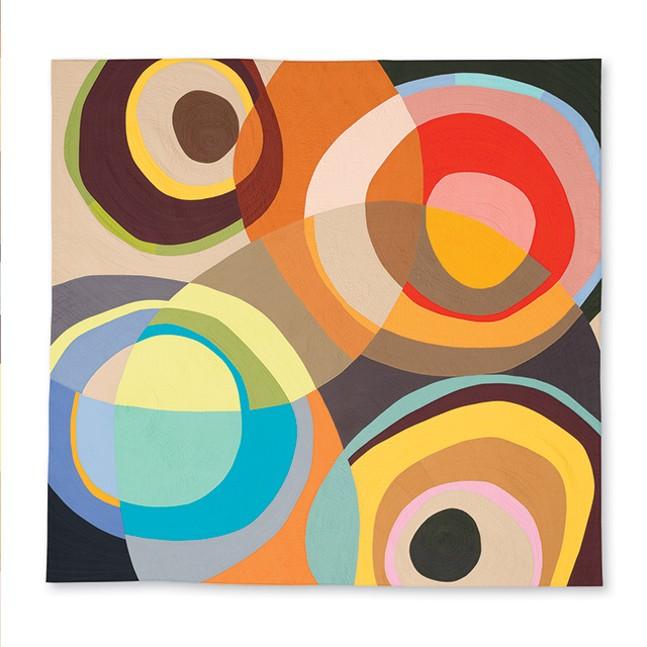 Stefani Danes' Round and Round quilt