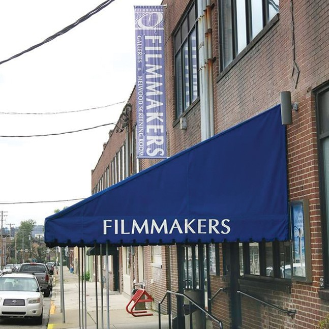 The exterior of the Melwood Screening Room - CP FILE PHOTO