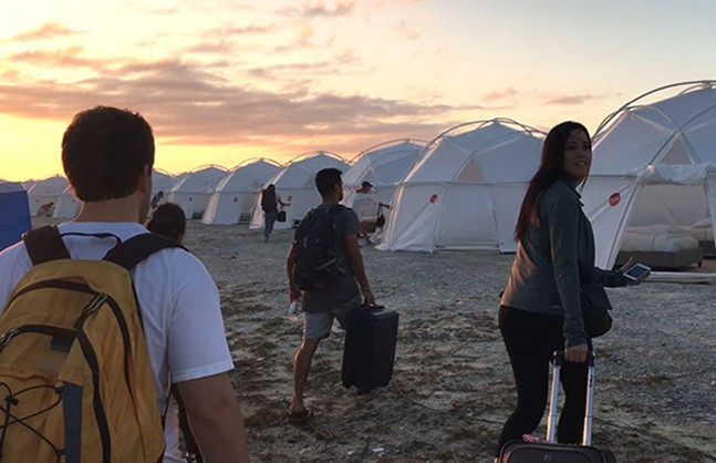 Fyre Festival was a glorious disaster. - NETFLIX