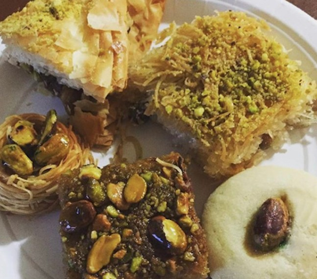 Middle Eastern pastries - PHOTO: COURTESY HELLO NEIGHBOR