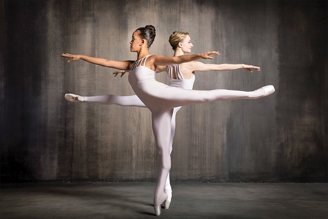 Diana Yohe and Alison Stroming - PHOTO: DUANE RIEDER